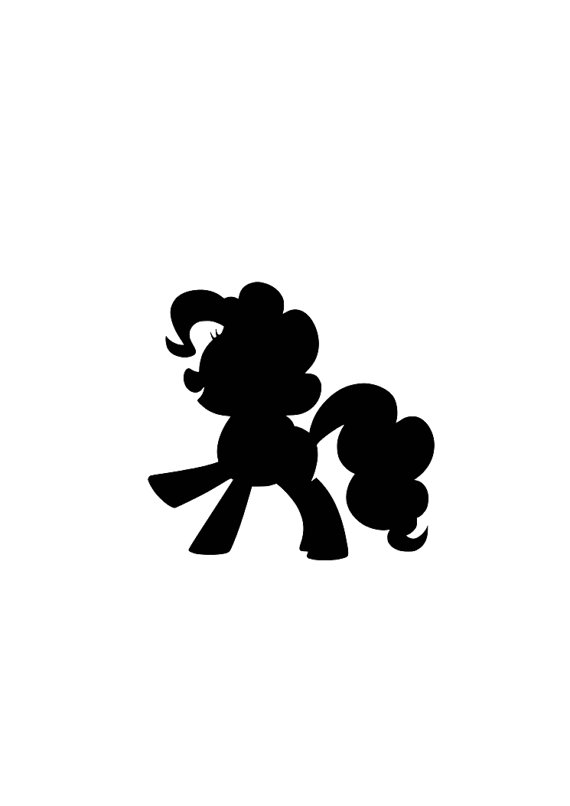 570x806 My Little Pony SVG cutting file for Cricut or Silhouette from