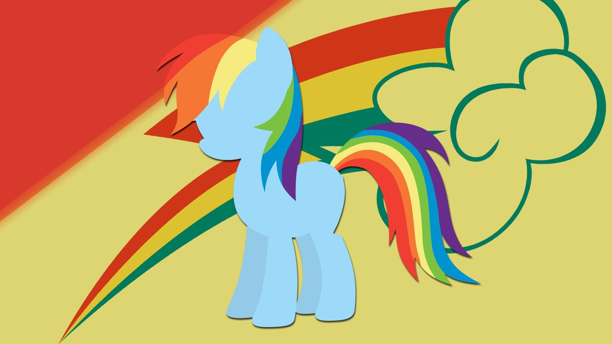 1191x670 Rainbow Dash Silhouette Wallpaper By Rdbrony16