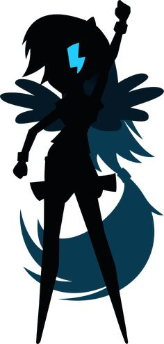 236x495 Rarity Silhouette Vector By Mylittleapplebloom On My