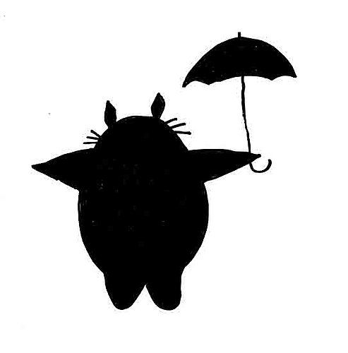 My Neighbor Totoro Silhouette