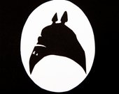 170x135 Items Similar To My Neighbor Totoro Silhouette Framed Papercraft