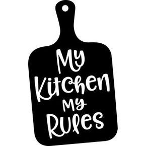 290x290 My Kitchen My Rules Silhouette Design And Silhouettes