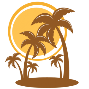 300x300 Palm Trees Silhouette Svg My Miss Kate Cuttables