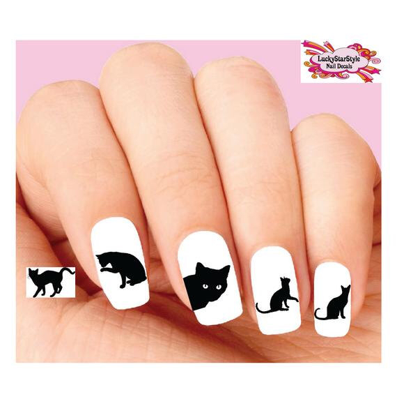 570x572 Waterslide Nail Decals Set Of 20