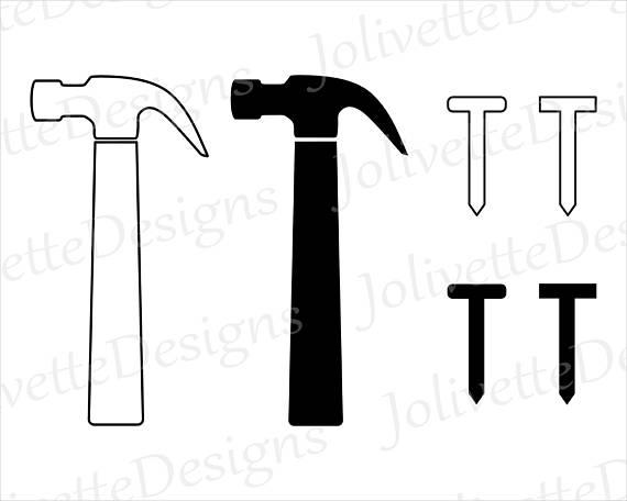 570x456 Hammer, Nail, Nails, Tool, Carpenter, Clip Art, Clipart, Design
