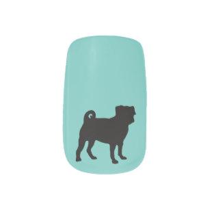 307x307 Silhouette Nail Art Amp Nail Wraps Zazzle