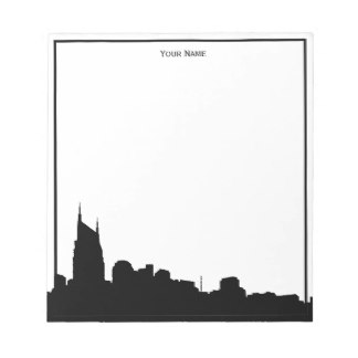 324x324 Cityscape Outline Nashville Sticker. Nashville Usa City Skyline