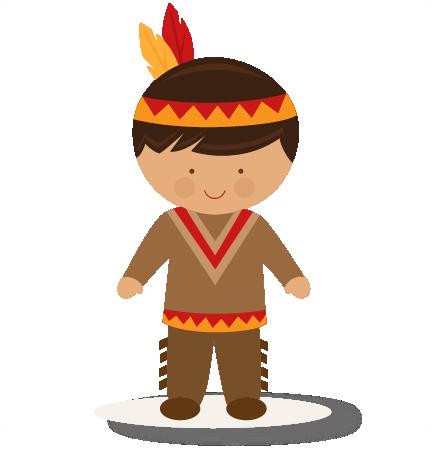 432x451 Thanksgiving Boy Native American Svg Scrapbook Cut File Cute