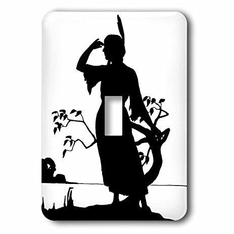 463x463 3drose Lsp 223506 1 Image Of Silhouette Of Native American Woman