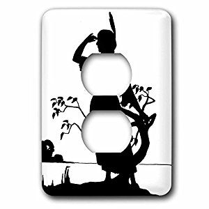 300x300 3drose Lsp 223506 6 Image Of Silhouette Of Native American Woman 2