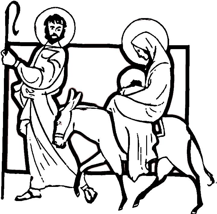 720x710 Images For Nativity Scene Silhouette Clip Art