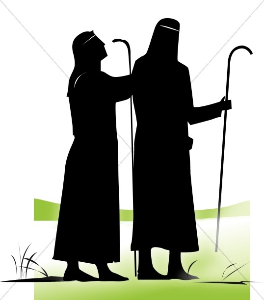 538x612 Silhouette Shepherds Nativity Clipart