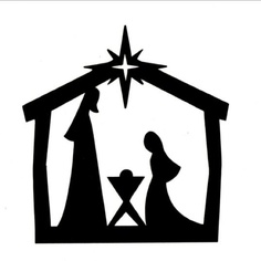 nativity scene clipart silhouette at getdrawings com free for rh getdrawings com christmas nativity clipart free christmas nativity clipart black and white free