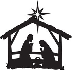 nativity scene silhouette clipart at getdrawings com free for rh getdrawings com nativity scene clipart black and white nativity scene clip art free