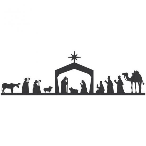 nativity scene silhouette clipart at getdrawings com free for rh getdrawings com nativity clipart black and white nativity clipart to colour