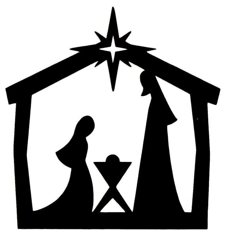 Nativity scene silhouette pattern free at getdrawings free for 736x771 nativity silhouette patterns maxwellsz