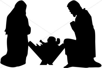 388x258 Clipart Of Mary And Joseph Free