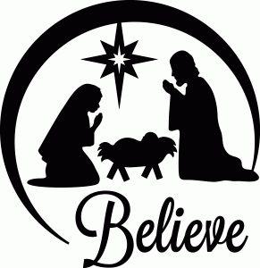 291x300 Nativity Silhouette Holidays Nativity Silhouette