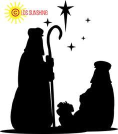 236x268 Nativity Silhouette Free Nativity Clipart Clip Art Graphic Image