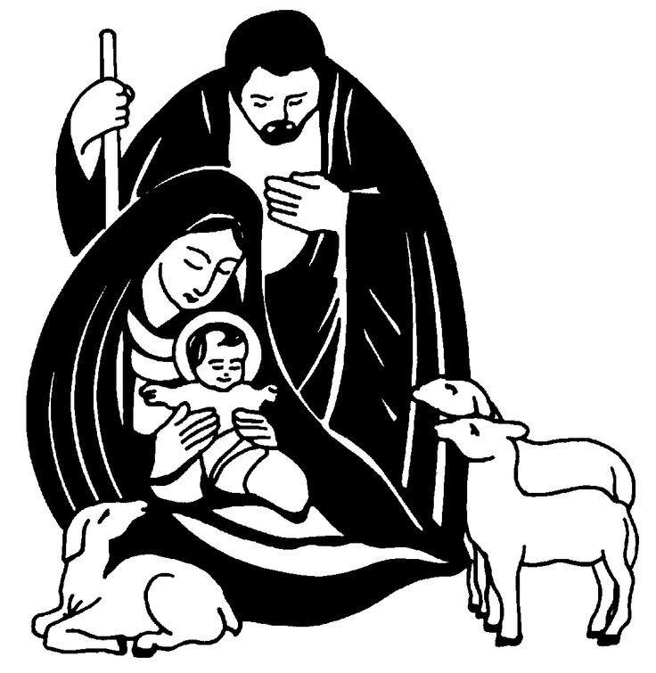 736x755 Nativity Silhouette Free Nativity Silhouette Clip Art Clip Art