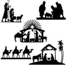 225x225 Nativity Die Cut Ebay
