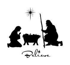 236x219 Nativity Pictures Black And White