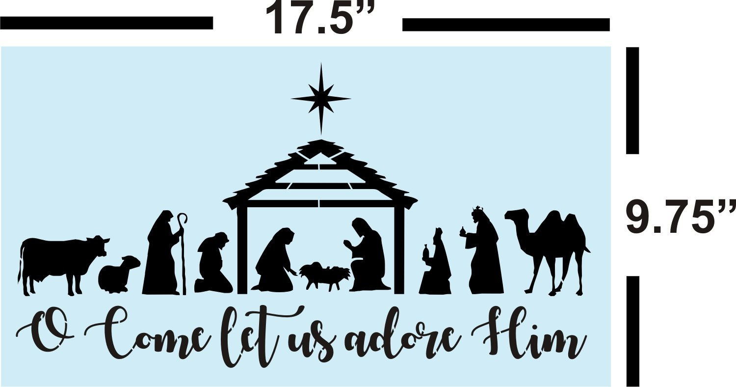 Nativity Silhouette Images