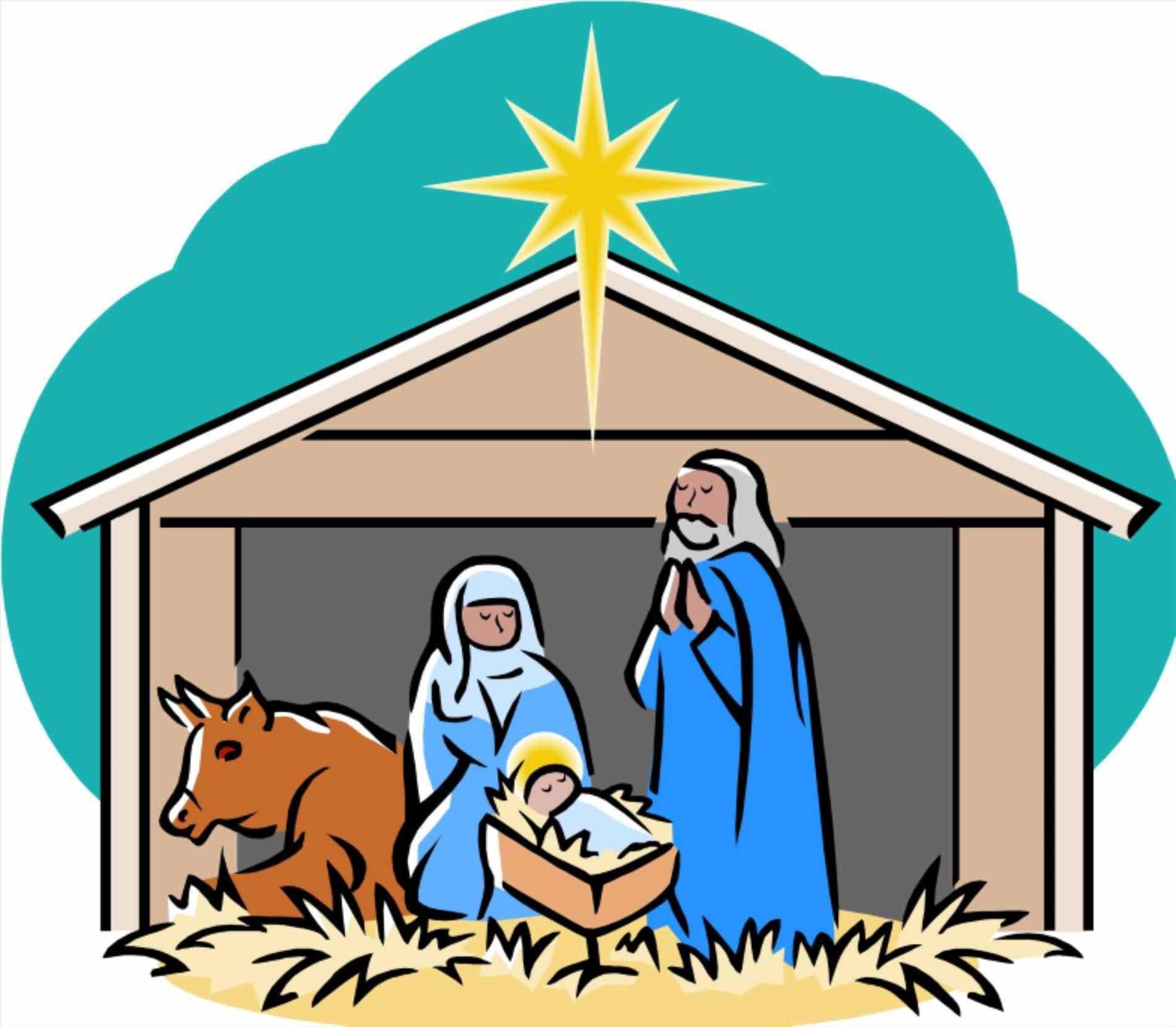 Nativity Silhouette Printable