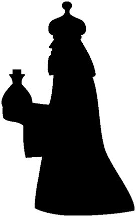 photo about Nativity Clipart Free Printable called Nativity Silhouette Printable at  Absolutely free for