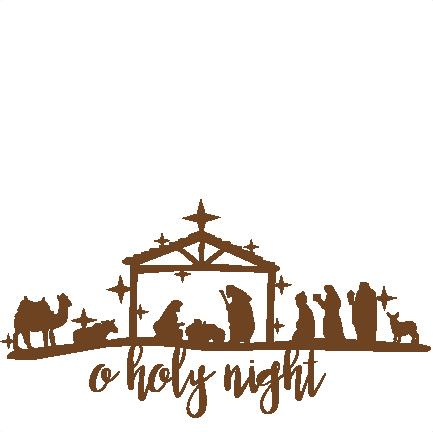 433x432 Nativity Svg Scrapbook Cut File Cute Clipart Files For Silhouette