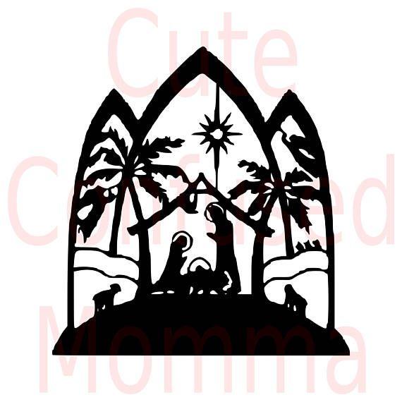 570x570 Nativity Svg Nativity Scene Svg Christian Svg Manger Svg Navidad