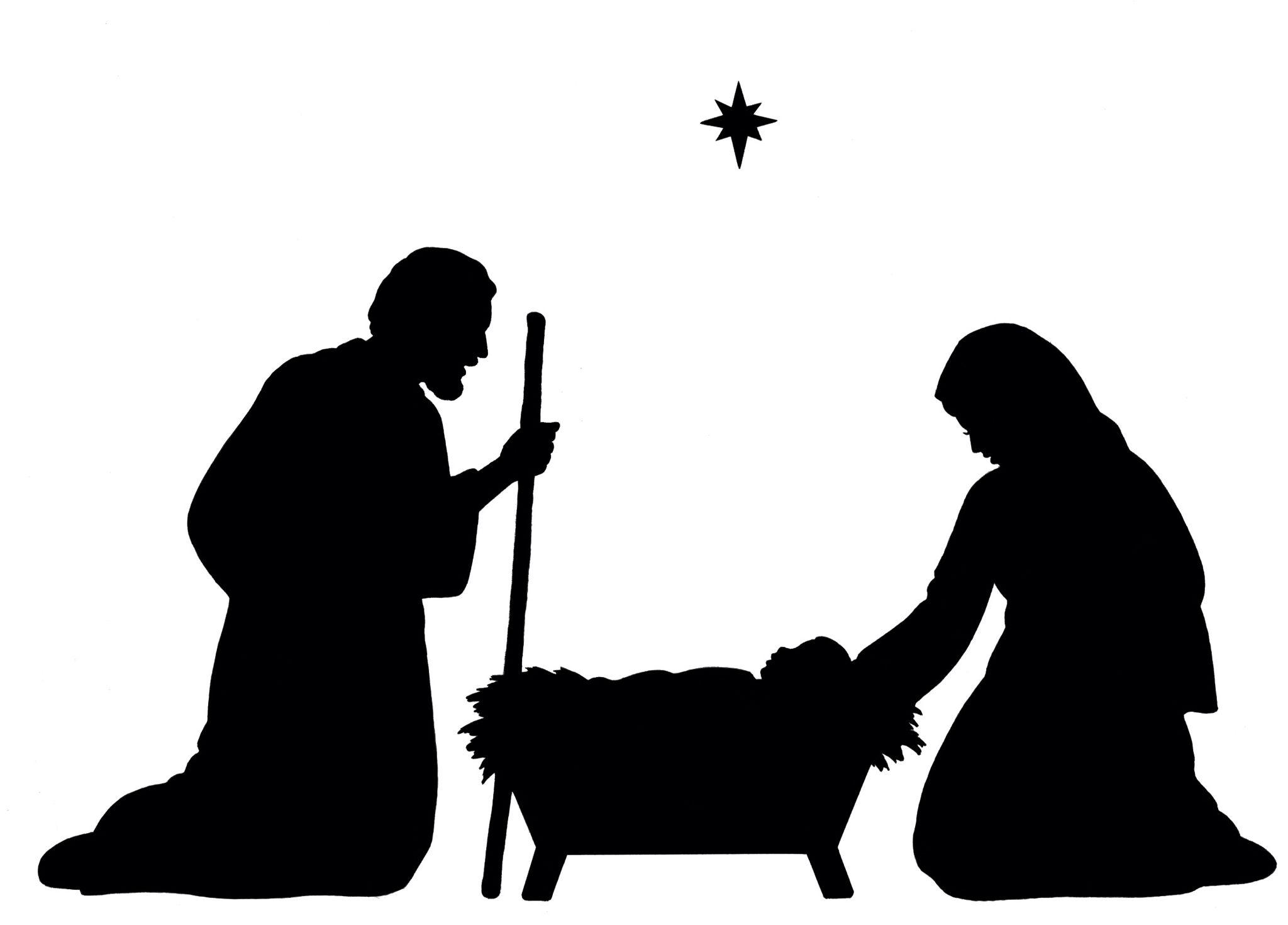 2048x1470 Nacimiento Sud Lds Navidad, Silhouette And Cricut