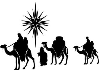 330x232 Manger Silhouette 95 Full Nativity Silhouette