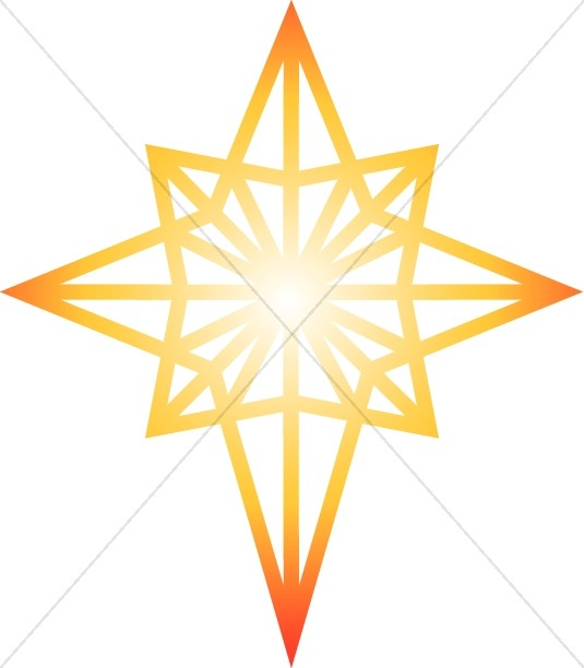 535x612 Nativity Star And Magi Silhouette Epiphany Clipart