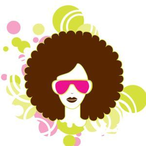 300x300 Natural Hair Clipart