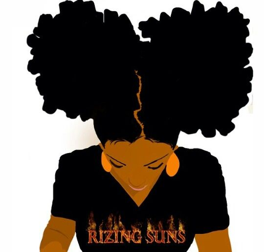540x517 Rizing Suns Afro Art Black Girls, Black Girl Magic