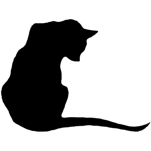 600x600 Custom Personalized Silhouette Cat