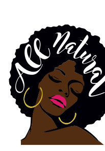 206x295 Svg File Natural Hair Svg All Natural SVG File Ethnic Svg