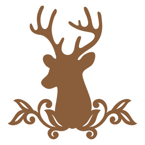 300x300 Silhouette Design Store Nature Buck Sophie Gallo Design