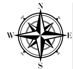 235x222 Compass Stencil Designs For Walls And Crafts Compass, Stenciling