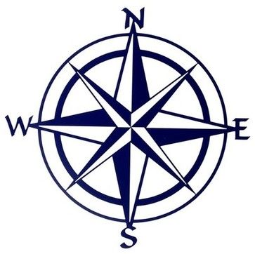 363x362 Lazart Production 20 Inch Compass Rose Wall Mount