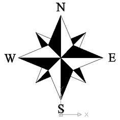 236x236 Black Nautical Star Clip Art
