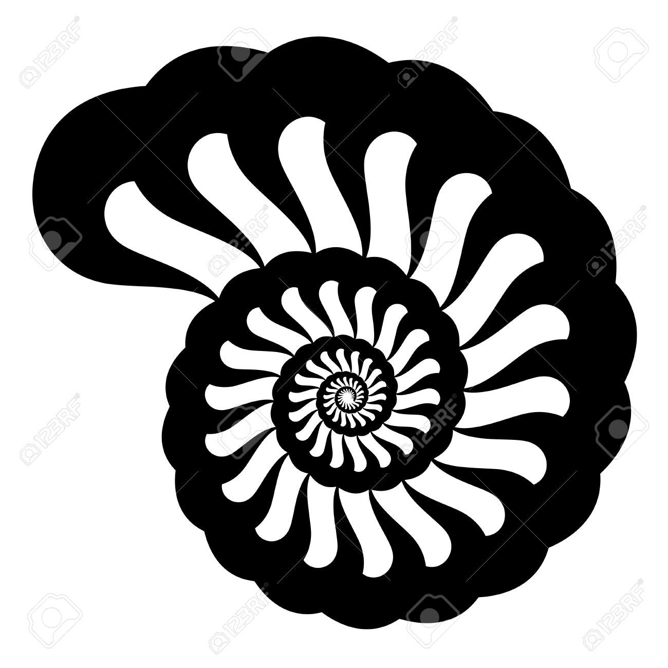 1300x1300 Shell Silhouette Royalty Free Cliparts, Vectors, And Stock