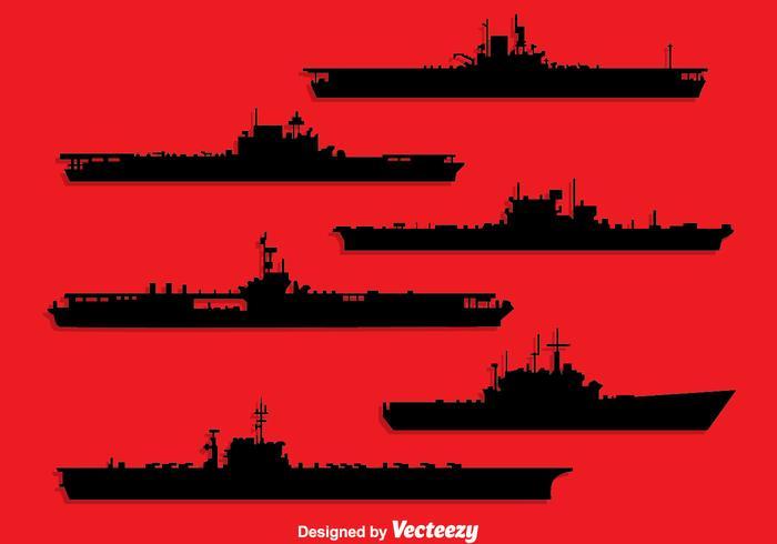 Naval Ship Silhouette