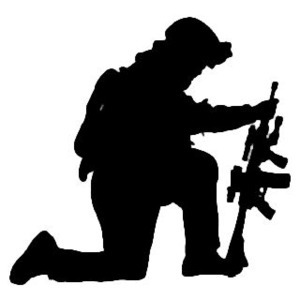 300x300 Military Soldier Decal Stsbw