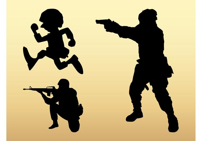 700x490 Soldier Free Vector Art