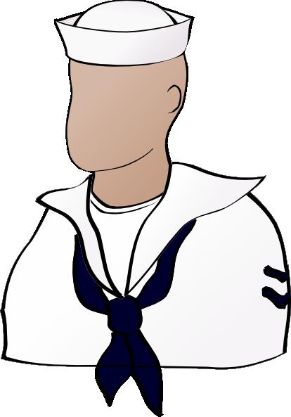 414x593 Us Navy Sailor Clipart