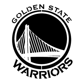 270x270 Nba Golden State Warriors Logo Stencil Free Stencil Gallery
