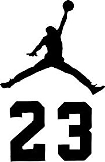208x320 Air Jordan Flight 23 Jumpman Logo Nba Huge Vinyl Decal
