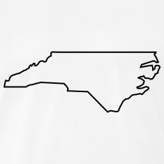 235x235 North Carolina Outline Clipart